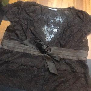 Gorgeous lace blouse, XL